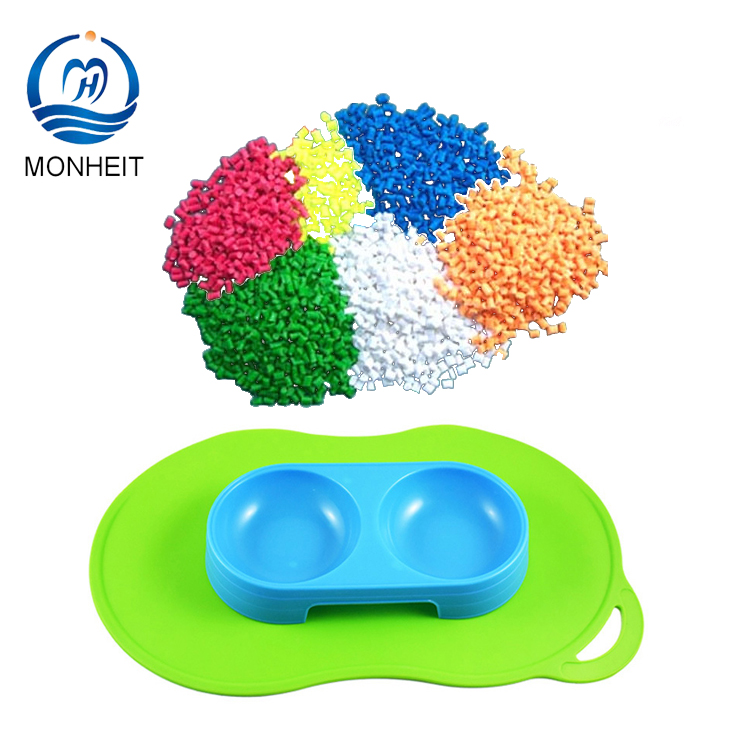 User-friendly Thermoplastic Elastomer TPE Resin For Pet Placemat