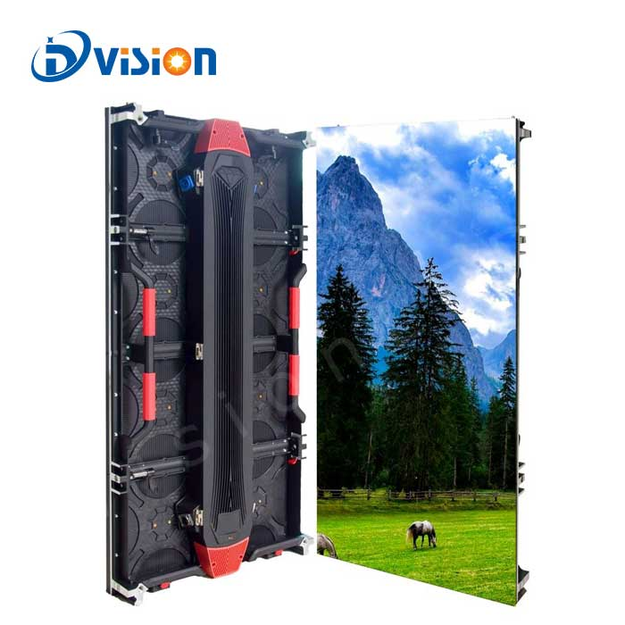 Outdoor event rental LED P3.91 500*500mm panel