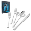 20pc silve(Dinner knife/fork/spoon  Des spoon/salad fork)