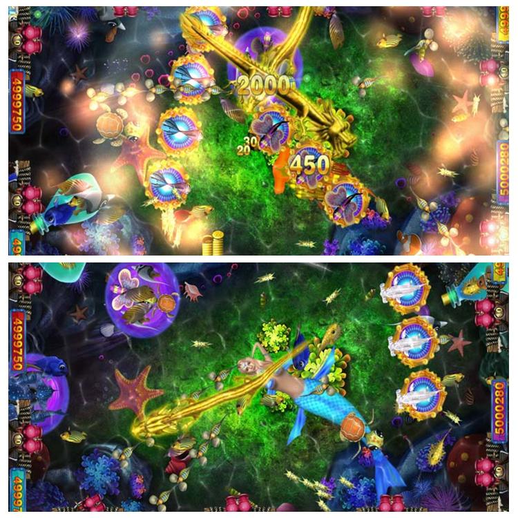 Arcade Meja Api Kirin Plus Perjudian Ikan Mesin Elektronik Koin Dioperasikan Permainan