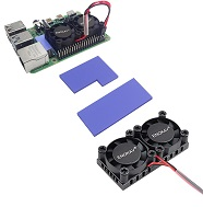 Factory Price Raspberry Pi3 30x30x10mm 30mm mini Cooling fan