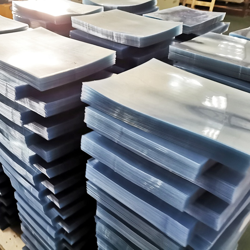 wholesale price 150 micron 170 micron plastic binder cover a4 pvc sheet clear