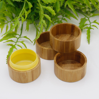 Customized popular bamboo cream cover sealed tank lid