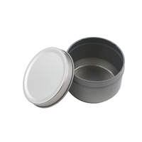 Customized logo scented soy candle tins