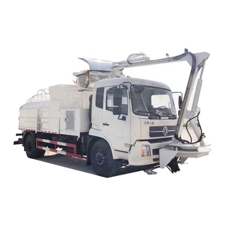 Chengli 8000L water tank high pressure tunnel wall cleaning truck
