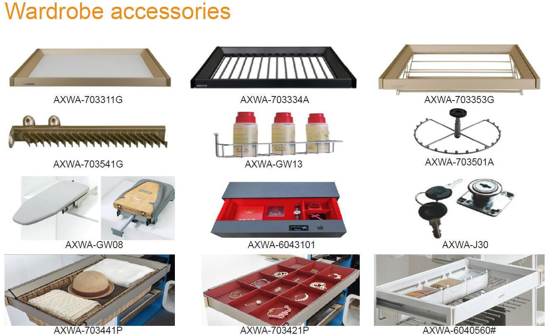 factory supply professional bedroom storage wardrobe