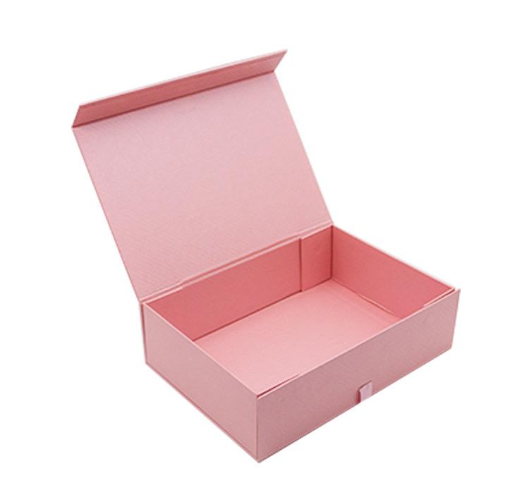 Toptan özel logo baskılı lüks karton kağıt hediye peruk saç uzatma manyetik katlanabilir ambalaj kutusu