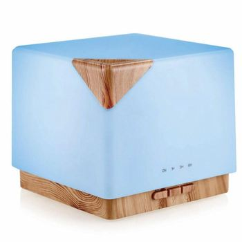 Christmas Gift High Quality Home Office Warm Light Aroma Diffuser 600ML Aromatherapy Mist Humidifier