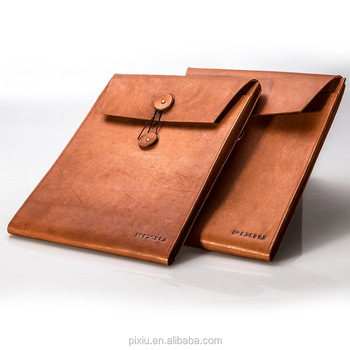 Fashion Briefcase Handcrafted a4 Leather Portfolio