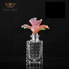 Crystal Art Glass Luxury Flower Shaped Perfume Bottle Wedding Giveaway Gift