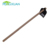 Garden used steel pickaxe with wooden handle