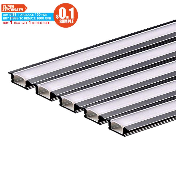 aluminium profile led lighting,100 Pieces, Silver/white/black/custom