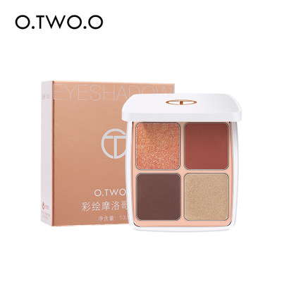 O.TWO.O <strong>Cosmetics</strong> Face Makeup Glitter Matte Pressed Powder Eyeshadow Set