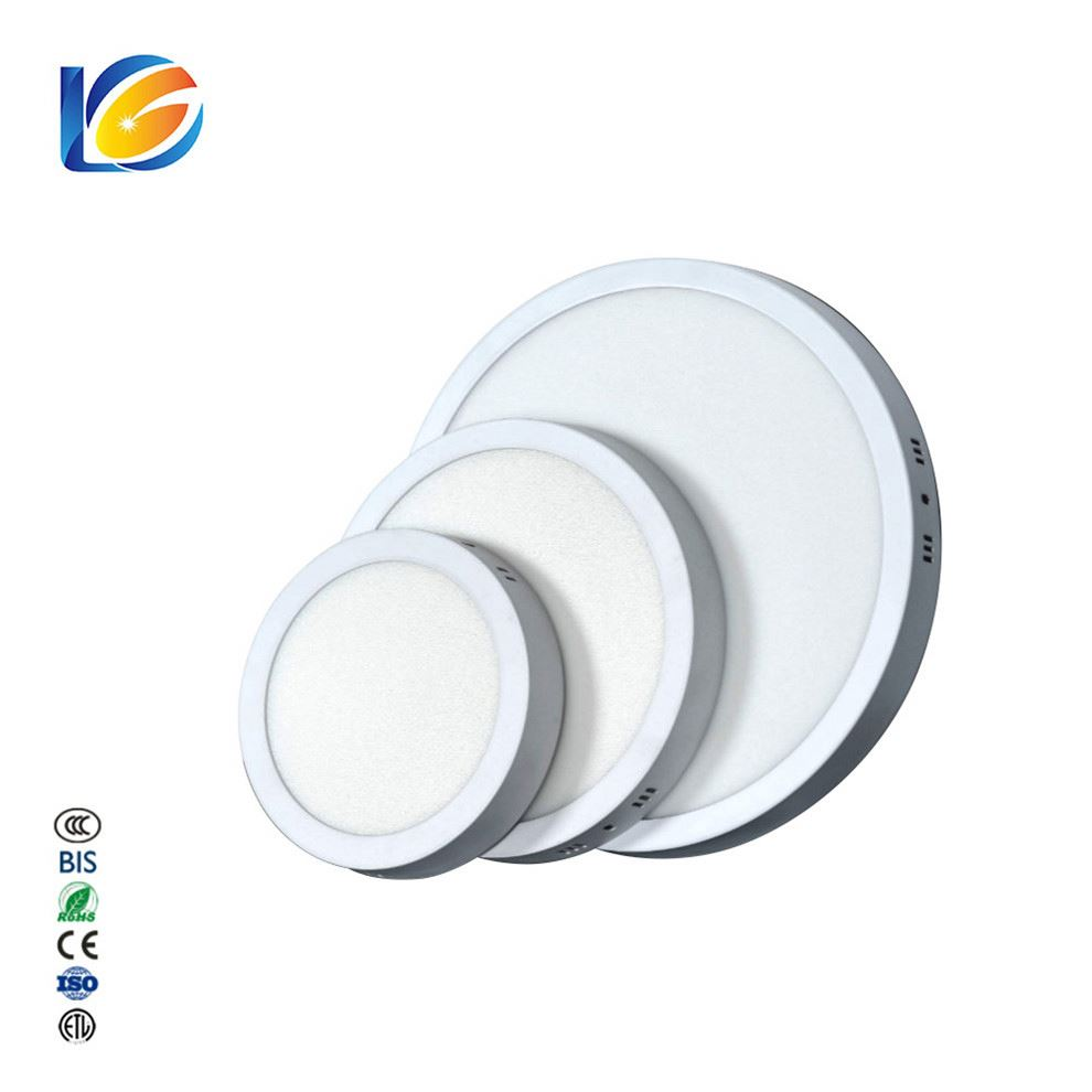 Big Manufacturers Adjustable Size Panels 12 Volt Decorative Round Led Pendant Rgb Surface Mount Panel Light
