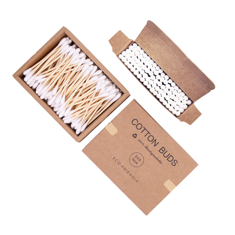 Top Sellers 2019 For Amazon Eco Friendly Cotton Buds, Amazon Top Seller Baby Cotton Buds Biodegradable