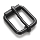 Customized 23mm Black Nickel Roller Buckle Factory Classic Style Belt Buckle