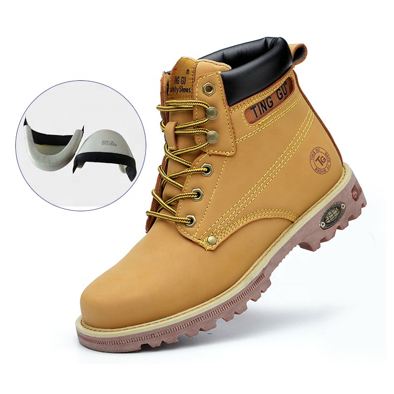 Kustom S3 Topi Baja Kaki Lembut Pelindung Industri Konstruksi Pria Sepatu Kerja Sepatu