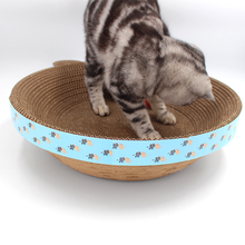 Grand chat escalade scratcher de carton <span class=keywords><strong>ondulé</strong></span> maison halloween