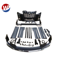 body kits for Toyota Alphard 2012-2017 upgrade to 2018 2019 SC front bumper kits Modellista body kits Headlight taillamp