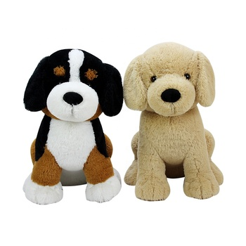 Kawaii Toy Animals Large Plush Realistic Dogs Stuff Wholesale Cute Animal Chew Dog Stuffed Toys