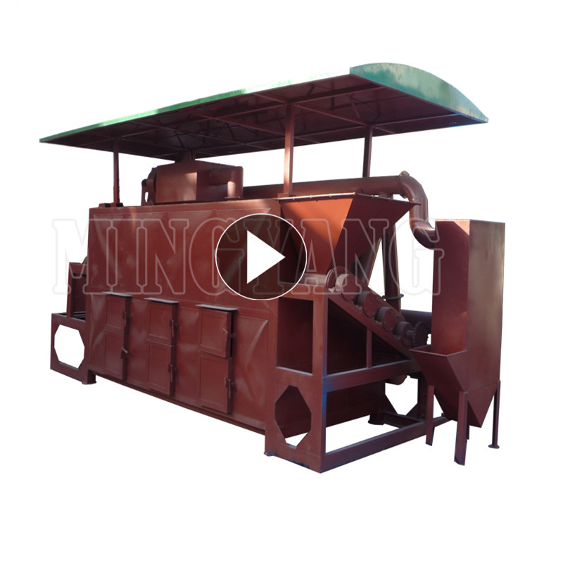 High quality 7.22kw wood sawdust torrefaction bioenergy charcoal making machine with ISO CE 008615039052281
