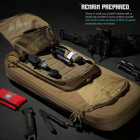 Tactical Conceal Tactical Gun Bag Premium Multiple Compartments Soft OEM Tactical Discreet Rifle Backpack Conceal Gun Bag