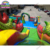 Guangzhou commercial used bounce house for sale craigslist,17*11*8m inflatable giant fun city castle bed
