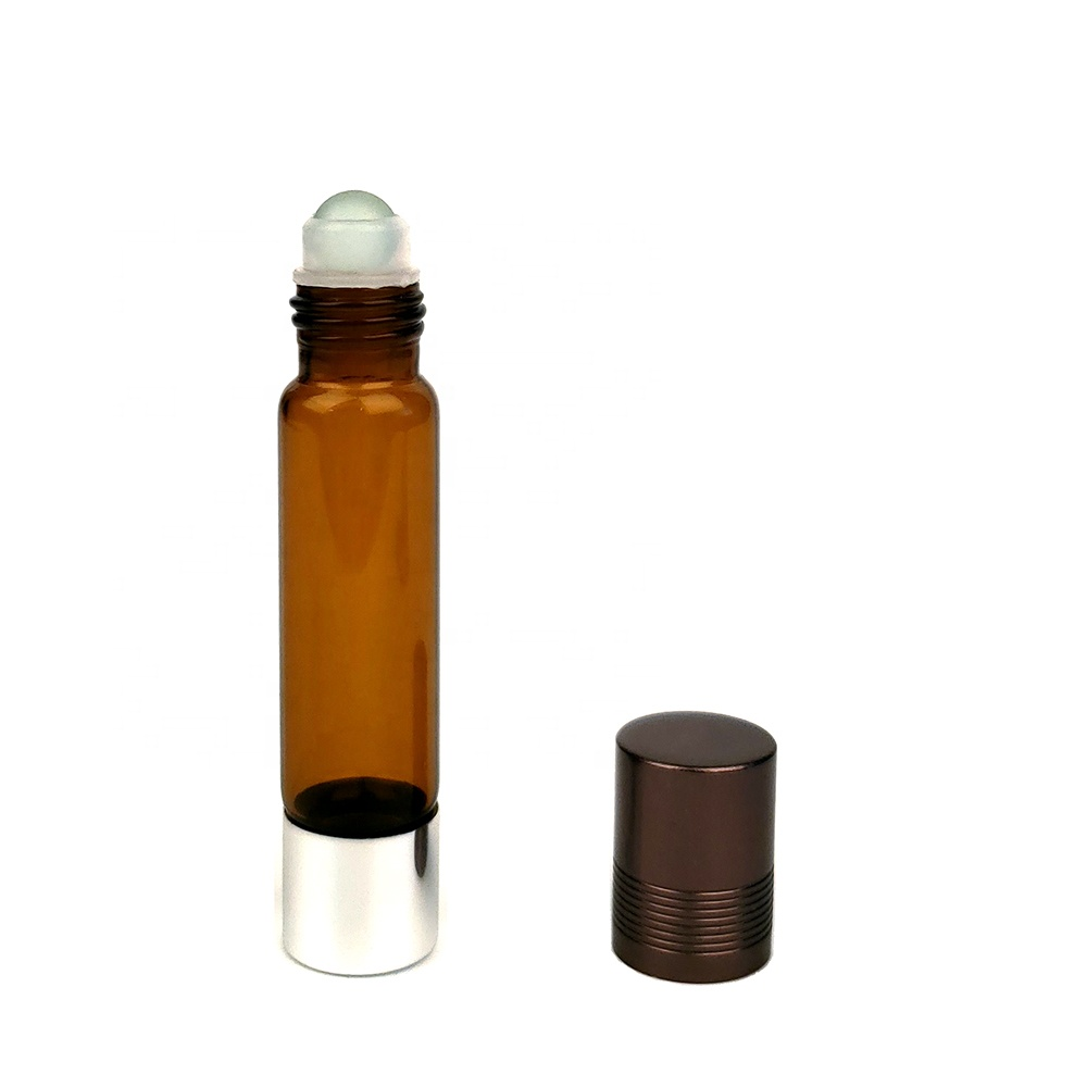 New Design 10ml Double Ended Roller Glass Bottles for Essential Oil