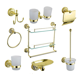 Series 6400g Gold Color Luxury Sanitary