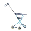 2019 Lightweight White Aluminium Alloy 5 Wheels Jogging Easy Go Baby Stroller Fan