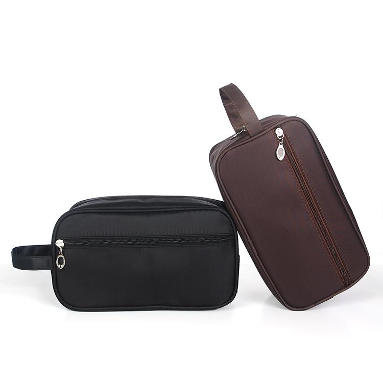Водонепроницаемая большая емкость для мужчин 190D нейлоновая Косметическая косметическая сумка с ручкой