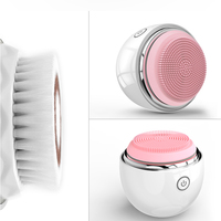 Silicone Face Brush Set, Silicone Facial Brush Cleanser, Silicone Facial Cleansing Brush Manufacturer