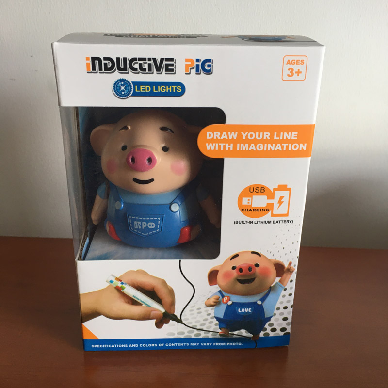 2019 Educational Creative Pen Inductive Toy Pig - Buy Pen ...