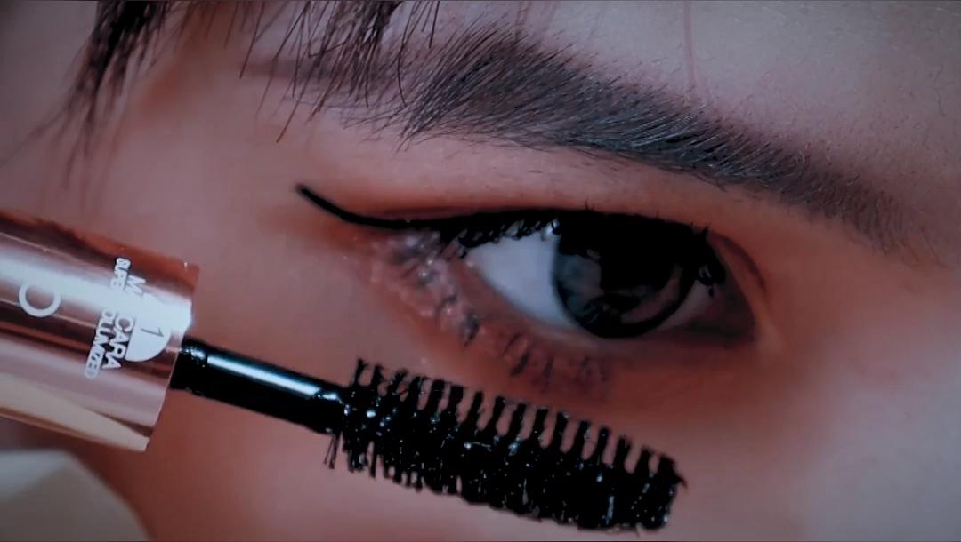 O.TWO.O Miracle Double Head 2 in 1 Mascara Waterproof Lengthening Eyelash Sweat Proof Easy Wearing black Mascara