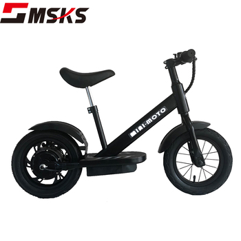Alloy Motor Fat Tire Safety Bike Kids Toys Car Electric Motorcycle For Baby