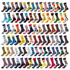 Manufacturer Drop Shipping New style Popular Women Cotton Socks High Quality Tube Skateboard Lovers Casual Happy Socks for men