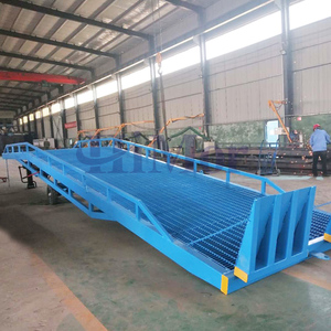 CE standard mobile forklift warehouse ramp for container loading