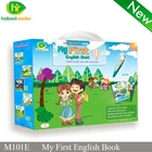 China supplier wholesale children learning smart talking reading pen with english sound books