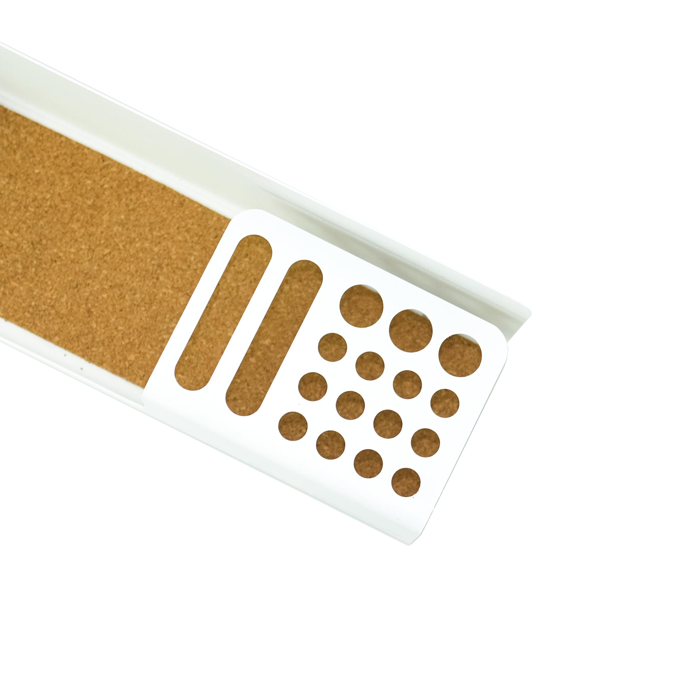 Modern minimalist gift table mobile phone desk storage bag custom metal pen holder with LOGO