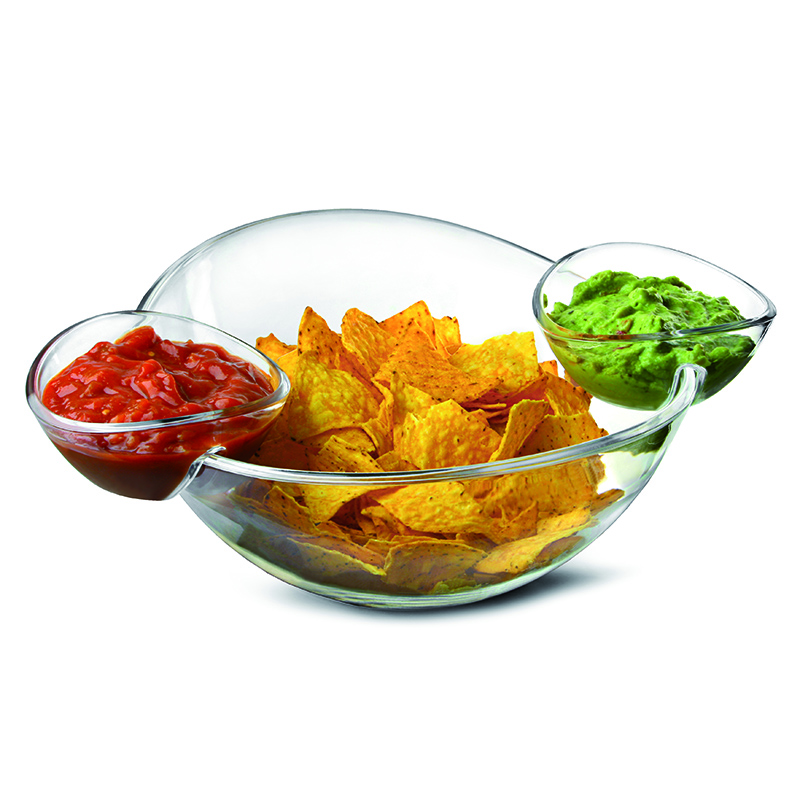 Reutilizável Conjunto Salada Bowl Set Tigela de Plástico Tigela de Acrílico Transparente
