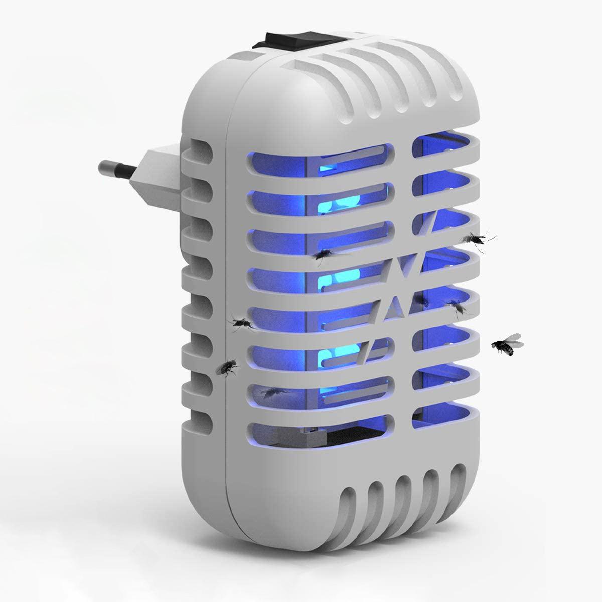 Embrochable d'intérieur Zapper-Tueur de Moustique D'intérieur Électrique Insectifuge-Moustique Piège À Moustiques Fruits mouches et Volant