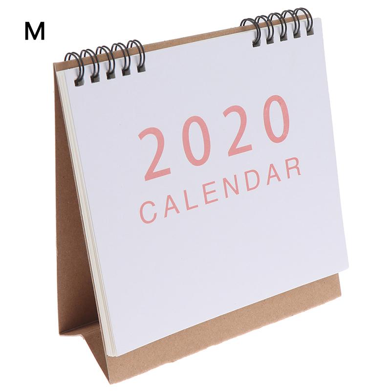 Ежедневно планировщик расписаний 2020 Настольный календарь школы планировщик Kawaii порядок дня Настольный календарь(Китай)