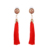 E-757 Xuping jewelry wholesale price gold women fashion jewelry acrylic earrings for women Tassel earrings