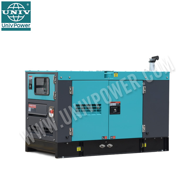 2019 year prime use 40KVA 32KW ultra silent diesel generator for jordan market