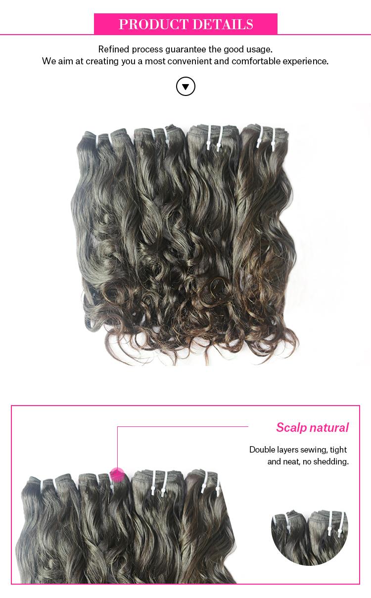 10A indonésia cabelo humano virgem extensões de cabelo humano