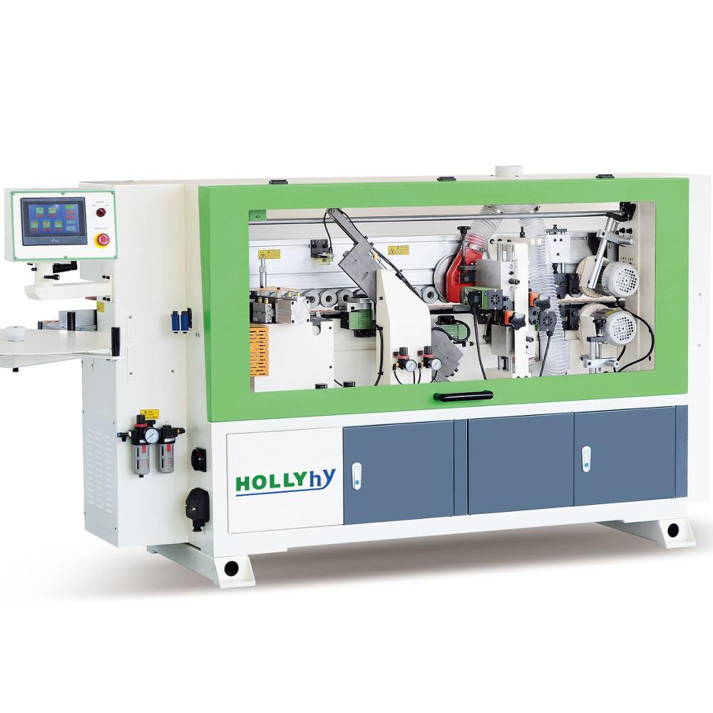 Hollyhy HY260A Hot-sale Five Functions Automatic Edge Banding Machine/PVC Edge Banding Machine for Woodworking