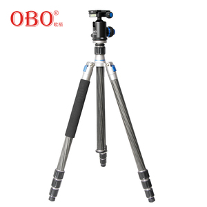 lightweight carbon fiber extendable camera tripod with ball head for digital camera