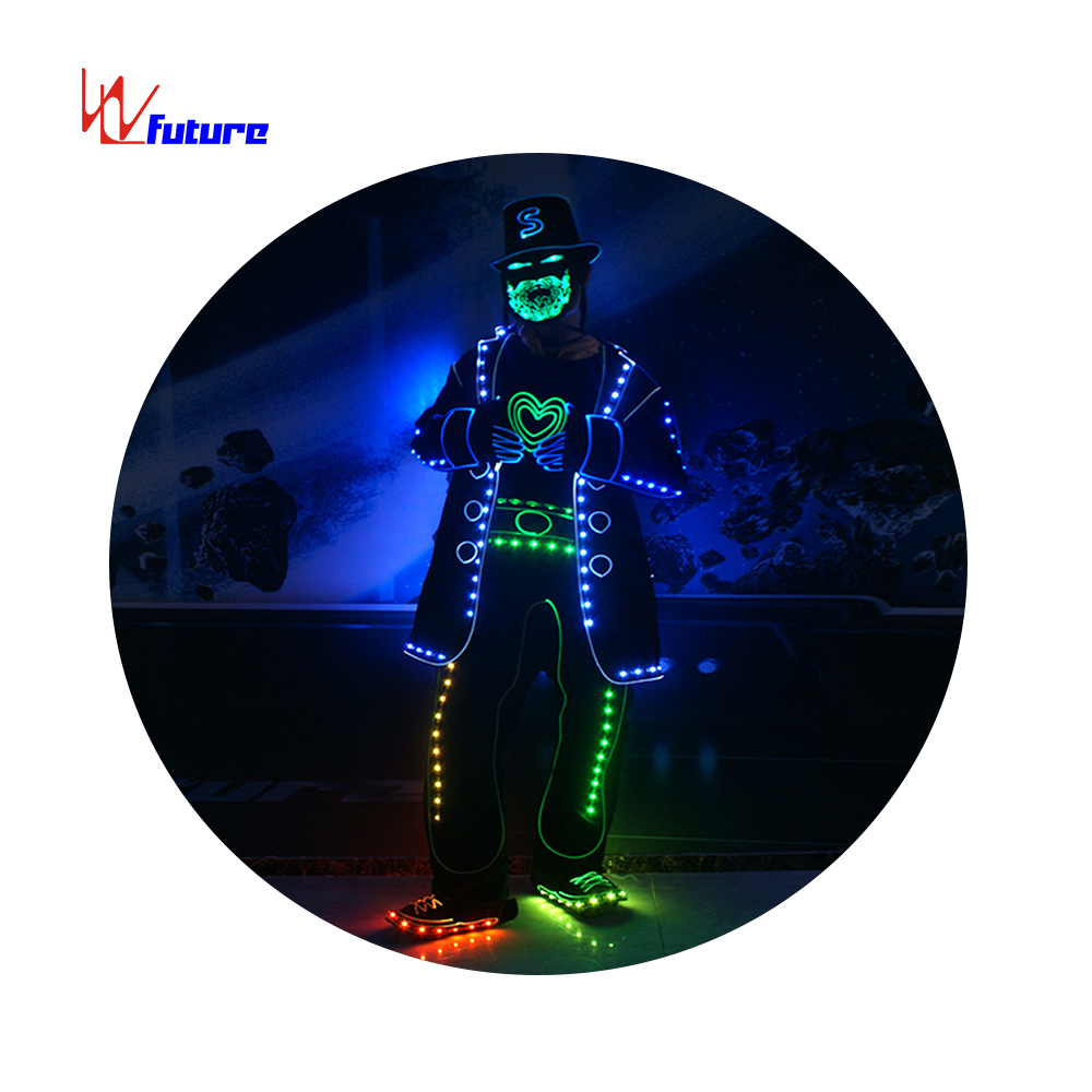 NEW Style LED Luminous <strong>Dance</strong> Show Nightclub Costume, Club <strong>Dance</strong> Costume, hiphop <strong>dance</strong> costume