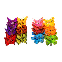 Best Selling Unique Butterfly Party Decorations Christmas Butterfly Christmas Artificial Butterfly