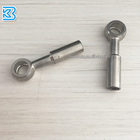 an3 10mm straight 0degree stainless steel braided brake hose/pipe/line/tube stainless steel crimp type banjo fitting